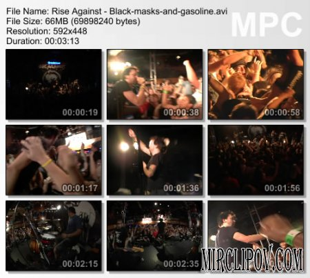 Rise Against - Black Masks And Gasoline (live)