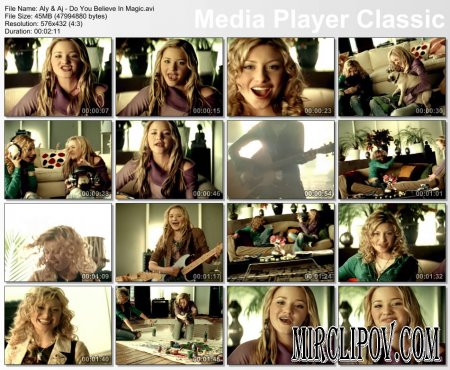 Aly & Aj - Do You Believe In Magic