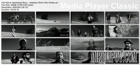 Backstreet Boys – Helpless When She Smiles