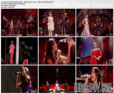 Nicole Scherzinger - Baby Love (Live, Show Valentino)