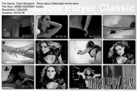 Clara Morgane - Nous deux (Hakimakli remix, Uncensored)