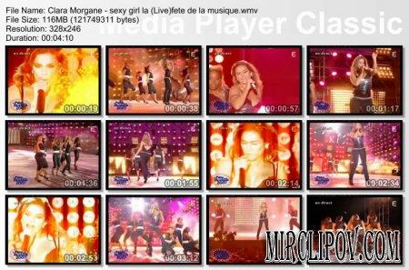Clara Morgane - Sexy girl (Live)