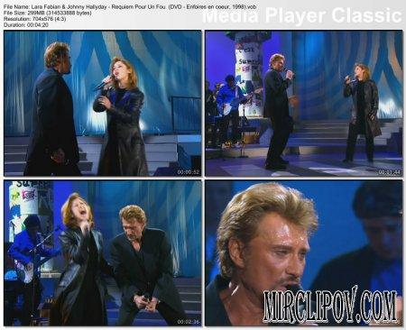 Lara Fabian & Johnny Hallyday - Requiem Pour Un Fou (Enfoires en coeur, 1998)