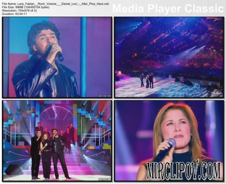 Lara Fabian Feat. Roch Voisin & Daniel Levi - Aller Plus Haut