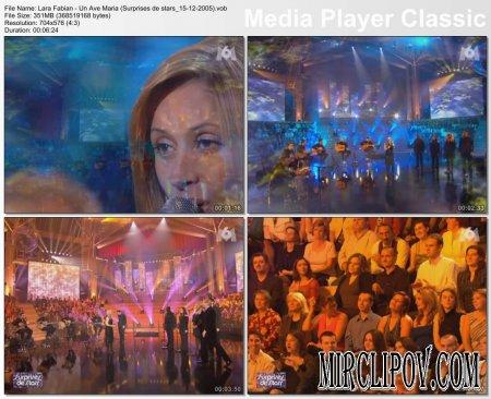 Lara Fabian - Un Ave Maria (Surprises de stars, 15.12.2005)