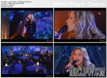 Lara Fabian - A Gottingen (live)