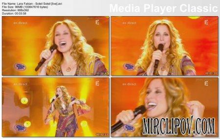 Lara Fabian - Soleil Soleil (live)