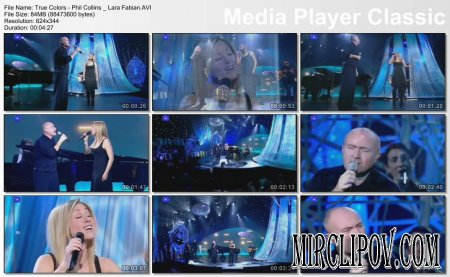 Lara Fabian & Phil Collins - True Colors (Live)