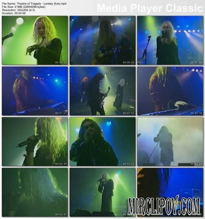 Theatre of Tragedy - Loreley (Live)