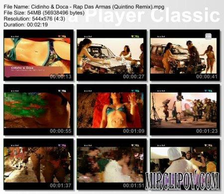 Cidinho & Doca - Rap Das Armas (Quintino Remix)