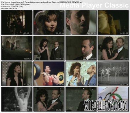 Jose Carreras Feat. Sarah Brightman - Amigos Para Siempre