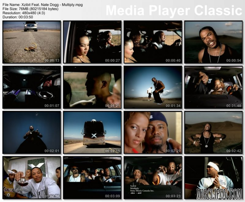 Xzibit Feat. Nate Dogg - Mutiply