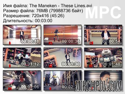 The Maneken - These Lines