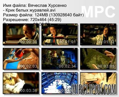 Вячеслав Хурсенко - Крик Белых Журавлей