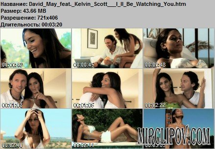 David May Feat. Kelvin Scott – I'll Be Watching You