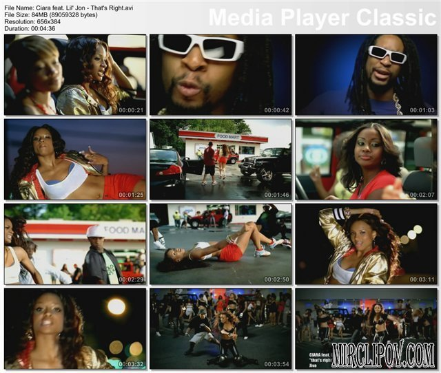 Ciara Feat. Lil Jon - That's Right