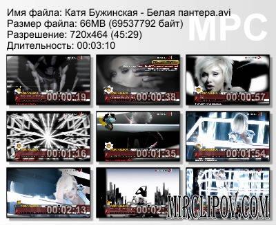 Катя Бужинская - Белая Пантера