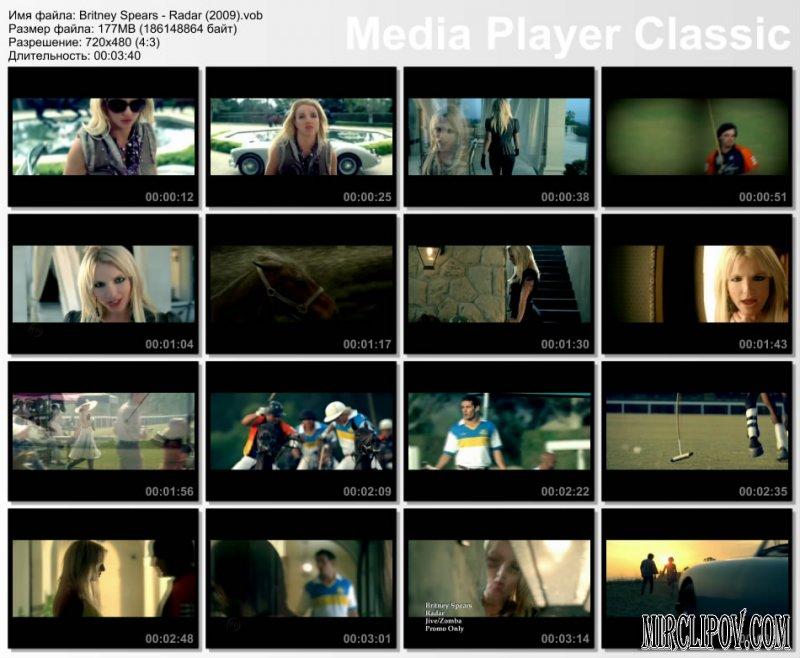 Britney Spears - Radar (Bloodshy & Avant Video Edit) .
