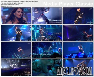 Within Temptation - Mother Earth (Live)