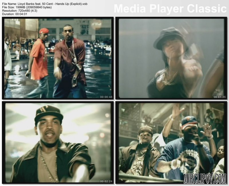 Lloyd Banks Feat. 50 Cent - Hands Up (Explicit) (PO Clean Edit)