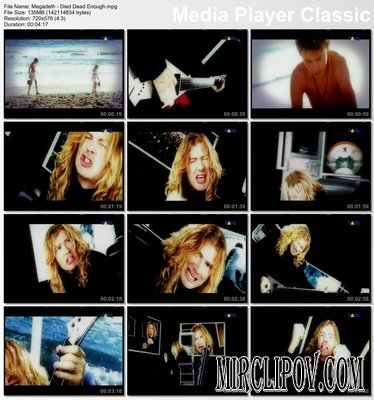 Megadeth - Died Dead Enough