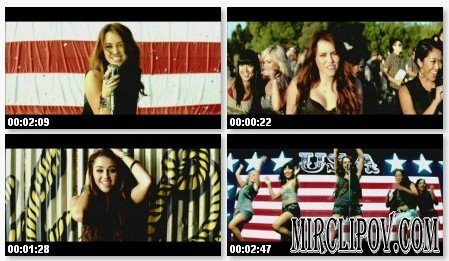 Miley Syrus - Party In The U.S.A.