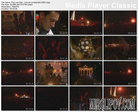 Paul Van Dyk - Live Perfomance (Loveparade, 2003)