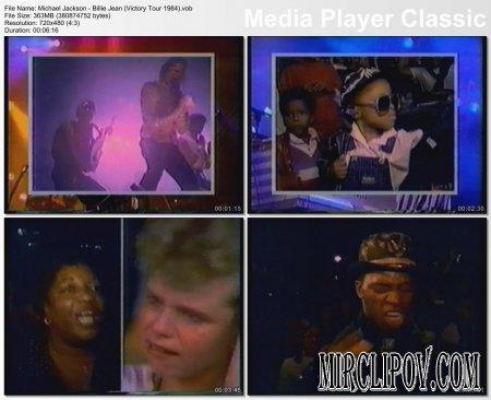 Michael Jackson - Billie Jean (Live, Victory Tour, 1984)