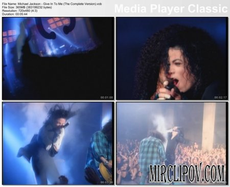 Michael Jackson - Give In To Me (Complete Version)
