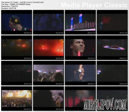 DJ Tiesto - Just Be (Live, Concert)