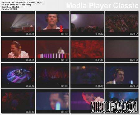 DJ Tiesto - Olympic Flame (Live)