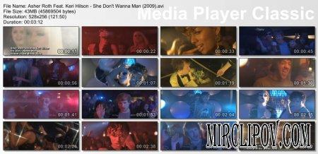 Keri Hilson Feat. Asher Roth - She Don`t Wanna Man