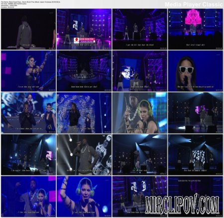 Black Eyed Peas - Boom Boom Pow (Live, Music Japan Overseas, 28.08.09)