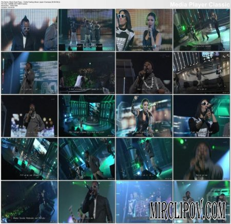 Black Eyed Peas - I Gotta Feeling (Live, Music Japan Overseas, 28.08.09)