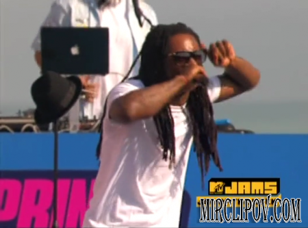 Lil Wayne Feat. Drake & Young Money - Every Girl (Live, MTVU Spring Break, 2009)
