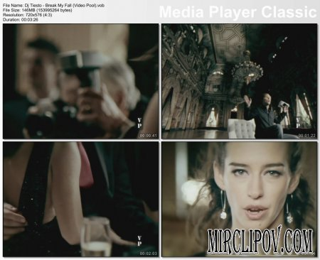 Dj Tiesto Feat. BT - Break My Fall (Video Pool)