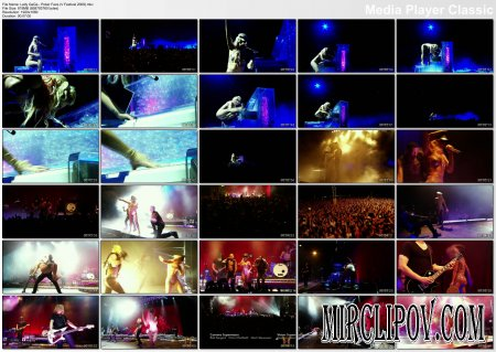 Lady Gaga - Poker Face Remix (Live, V Festival, 2009)