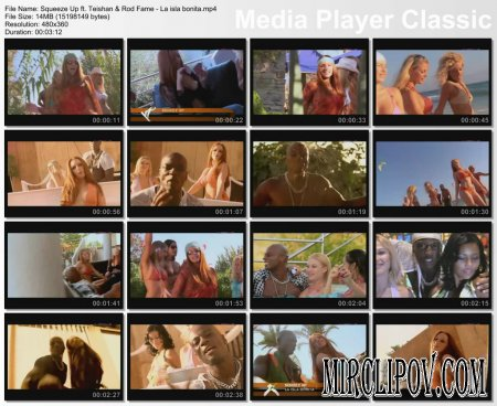 Squeeze Up Feat. Teishan & Rod Fame - La Isla Bonita