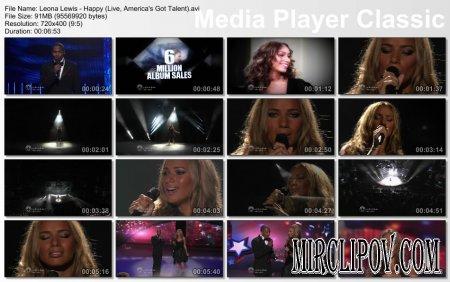 Leona Lewis - Happy (Live, America's Got Talent)