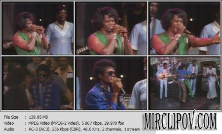 Michael Jackson Feat. James Brown - Medley (Live)