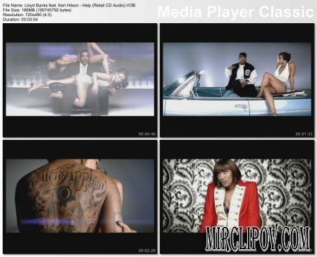 Lloyd Banks Feat. Keri Hilson - Help (Retail CD Audio) (PO Clean Edit)