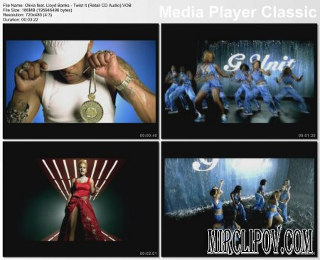 Olivia feat. Lloyd Banks - Twist It (Retail CD Audio)