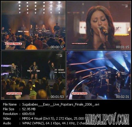 Sugababes - Easy (Live, Popstars Finale, 2006)