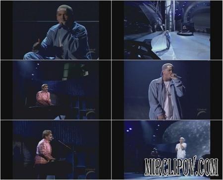 Eminem Feat. Elton John - Stan (Live, Grammy)
