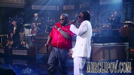 Rick Ross Feat. Magazeen - Yacht Club (Live, Letterman's Show)