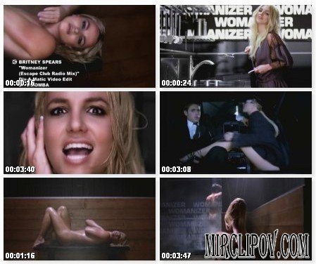 Britney Spears - Womanizer (Escape Club Radio Mix)