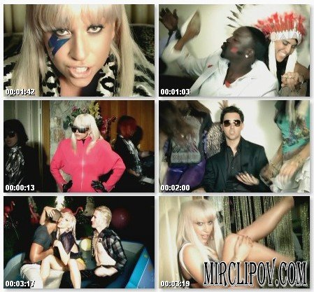 Lady GaGa Feat. Akon & Colby O'Donis - Just Dance (Hollywood Remix)
