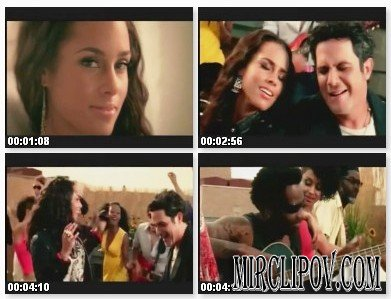 Alicia Keys Feat. Alejandro Sanz - Looking For Paradise