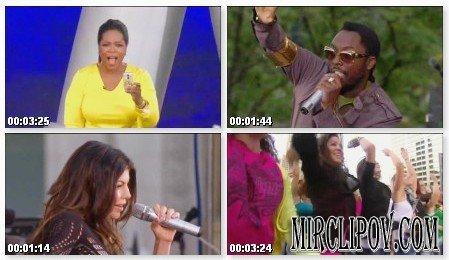 Black Eyed Peas - I Gotta Feeling (Live, Oprah's Kickoff Party)