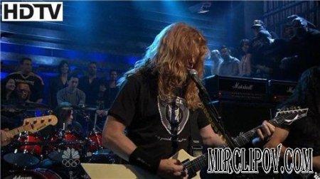 Megadeth - Head Crusher (Live, Late Night, 2009)